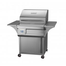 Memphis Grills Advantage Plus 26-Inch Wood Pellet Grill On Cart - 430 SS Alloy