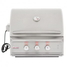 Blaze Professional 27-Inch 2-Burner Built-In Gas Grill With Rear Infrared Burner BLZ-2PRO