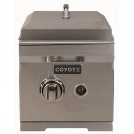 Coyote Built-In Gas Single Side Burner C1SB