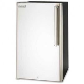 Fire Magic 4.2 Cu. Ft. Premium Compact  Refrigerator-Stainless Steel Door  Black Cabinet-3590-DL