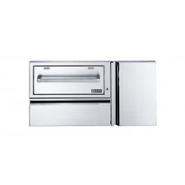 Lynx Professional 42-Inch Convenience Center With Warming Drawer & Propane Tank Storage L42CC-1