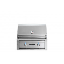 Sedona By Lynx 30-Inch Built-In Gas Grill With ProSear Burner (1 Stainless Steel Tube Burner, 1 ProSear Burner) L500PS