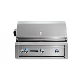 Sedona By Lynx 36-Inch Built-In Gas Grill With Rotisserie (3 Stainless Steel Tube Burners) L600R
