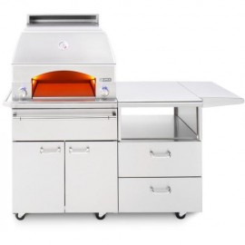 Lynx Professional Napoli Freestanding Outdoor Pizza Oven On Mobile Kitchen Cart