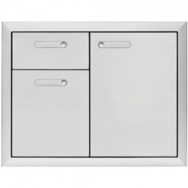 Lynx Ventana 36-Inch Access Door & Double Drawer Combo LSA36-4