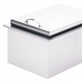 Summerset Small Ice Chest with 20lb Ice Capacity SSIC-17