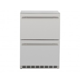Summerset 5.3 Cube UL Deluxe Two Drawer Refrigerator w/Locking Door SSRFR-24DR2