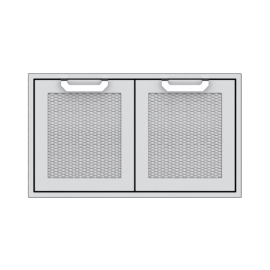 Hestan 36-Inch Double Door Sealed Pantry Storage HS-AGSD36