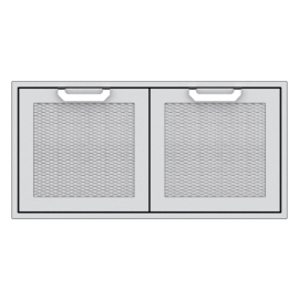 Hestan 42-Inch Double Door Sealed Pantry Storage HS-AGSD42