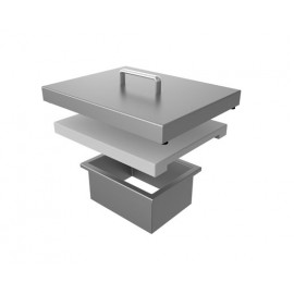 Aspire by Hestan Countertop Trash Chute With Cutting Board HS-AETC