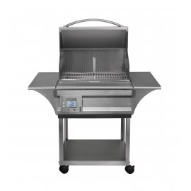 Memphis Grills Advantage 26-Inch Wood Pellet Grill On Cart - 430 SS Alloy-img-2