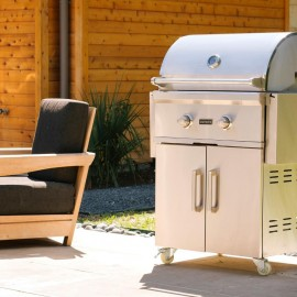 Coyote C-Series 28-Inch Natural Gas Grill On Cart-img-2