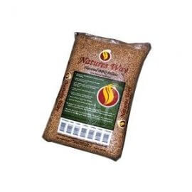 Natures Way 20 Lb. Natural Hardwood Pellets - Oak