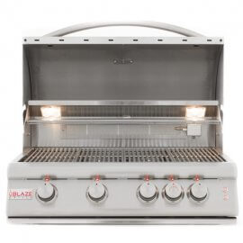 Blaze 32-Inch 4-Burner LTE Gas Grill With Rear Burner and Built-In Lighting System BLZ-4LTE-img-2