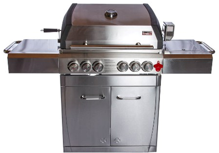 Cart Gas Grill